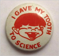 Tooth to Science button2